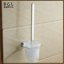 20750 factory for sale most popular items bathroom accessory chrome toilet brush holder