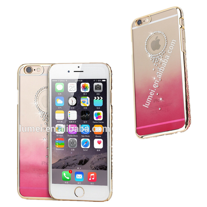 Shining Stylish PC Back Hard Protective Case Cover for iPhone 6, for apple iphone 6 phone accessory case