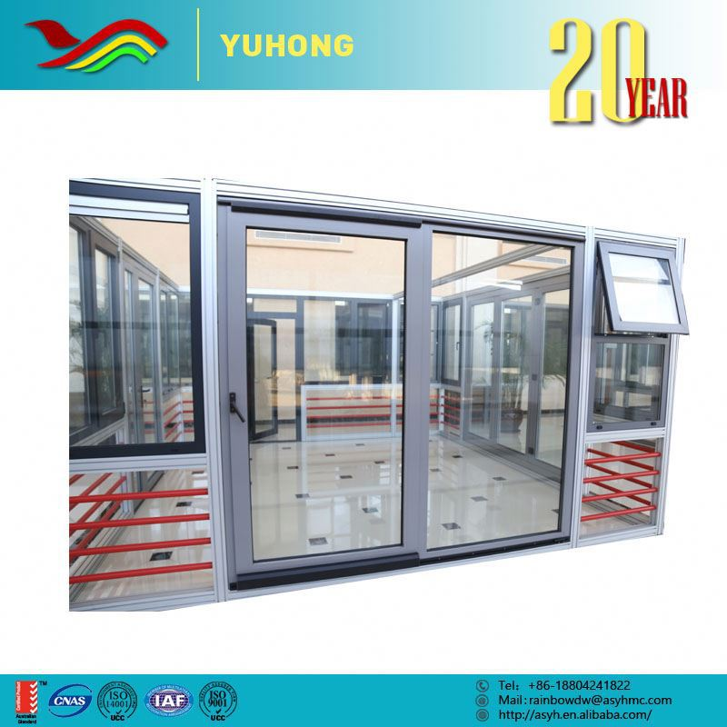 Best selling good quality new design frame used commercial glass doors