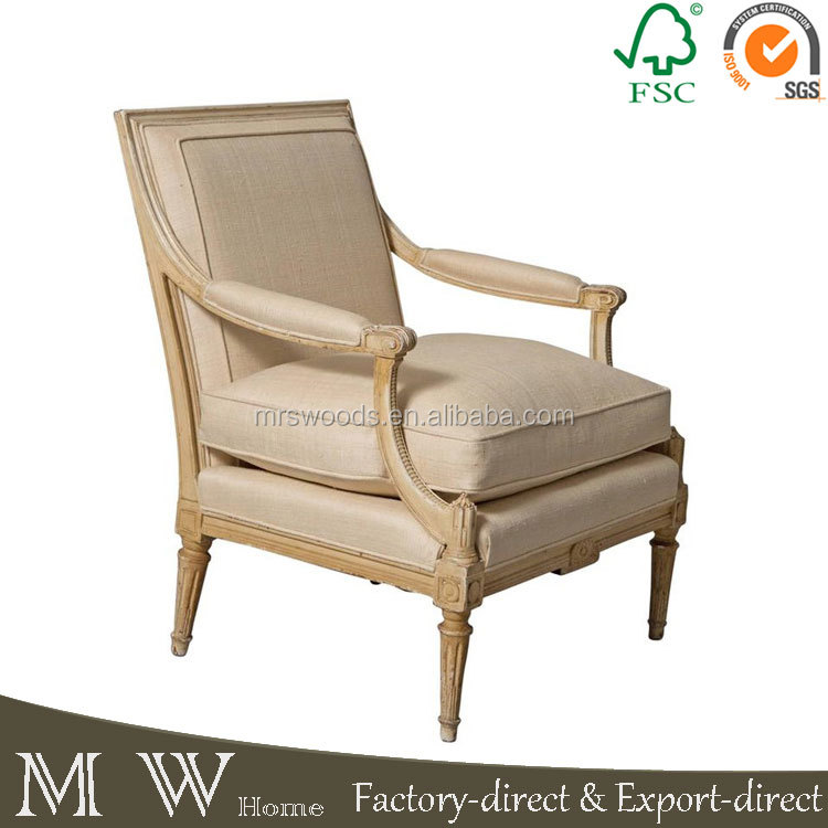 french fabirc upholstery modern lounge sofa chair
