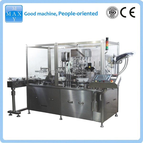 Disposable pre-filled syringe filling machines