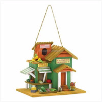 Personalized Hand bird house with solar light
