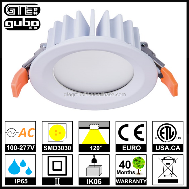 IP65 Waterproof 2.4G RF and WiFi Dimming LED Downlight 12W 2.5inches