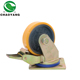 OEM Acceptable castor wheel industrial trolley wheels