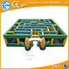 High quality inflatable corn maze, yellow color inflatable maze for sale