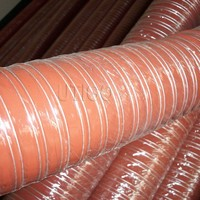 high temperature exhaut silicone air duct