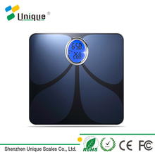 180kg 0.1kg High Precision ITO Glass Customized Bathroom Bluetooth Body Fat Weighing Scale