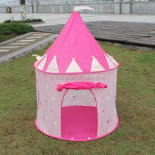 Popular Girls princess castle play kids tent