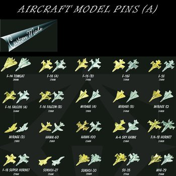 Aircraft model pins (A)