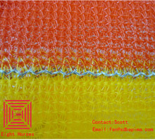 Mono 1x100m 180gsm Factory HDPE windbreak Orange <strong>safety</strong> fence net price for warning
