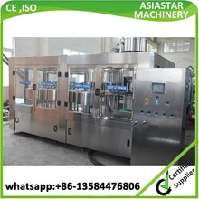 Gold supplier bottle water wash equipment filling capping machine CE,ISO