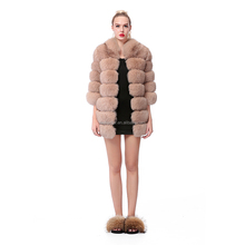 2017 Fur Popular and Fashion Quality Cheap Real Fox Fur Coats