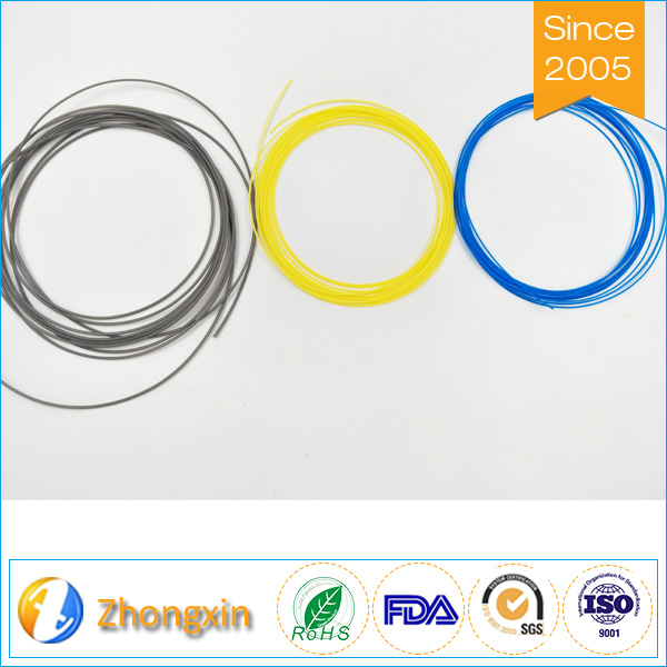 Chemical flexible heat resistant electrical Teflon Capillary Tube PTFE spaghetti tube