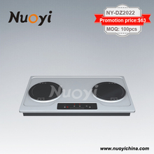 Electric Cooker 2 Burners Plate Combi