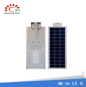 Shenzhen LED Solar Energy Street Light 6M Pole 30W All-In-One Integrated Solar Street Light Project