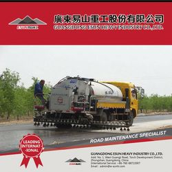 6cbm Intelligent Asphalt Sealer Spraying Truck HZJ5110GLQ