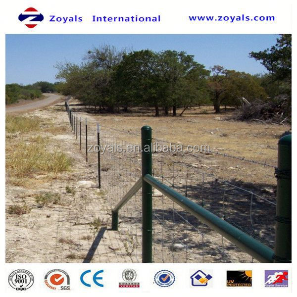 Professional ISO Manufacturer field fence no climb horse stable mesh hog wire sheep fencing