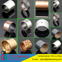 oscillating movements bushing PTFE coating slide bearing bush steel backing bronze backed bushing