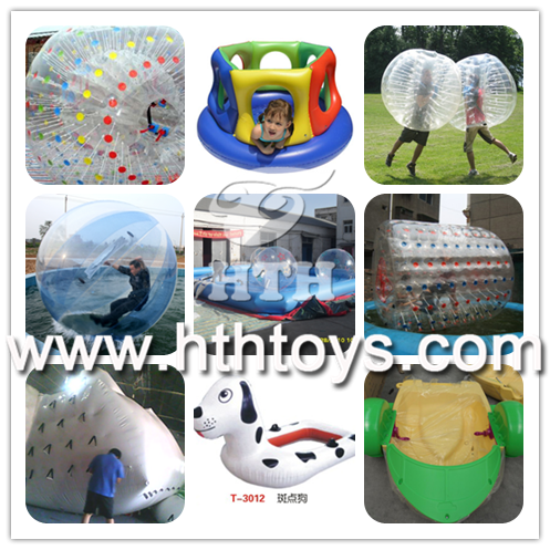 0.5mm PVC inflatable soap football field