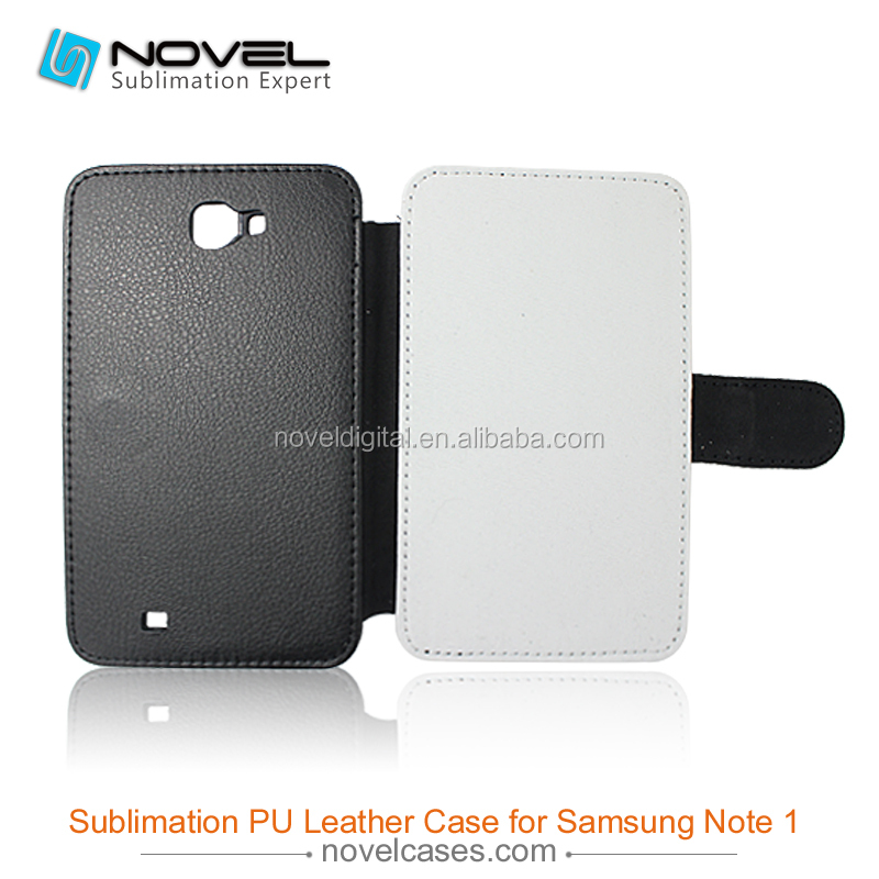 leather sublimation phone cover for samsung galaxy note 1 I9220