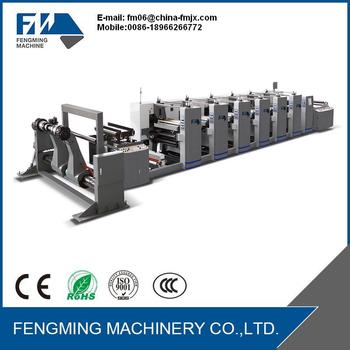 Best Sale High Speed 6 color Flexo Printing Machine
