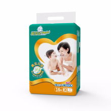Low price high quality disposable baby diaper in bulk with acquisition layer
