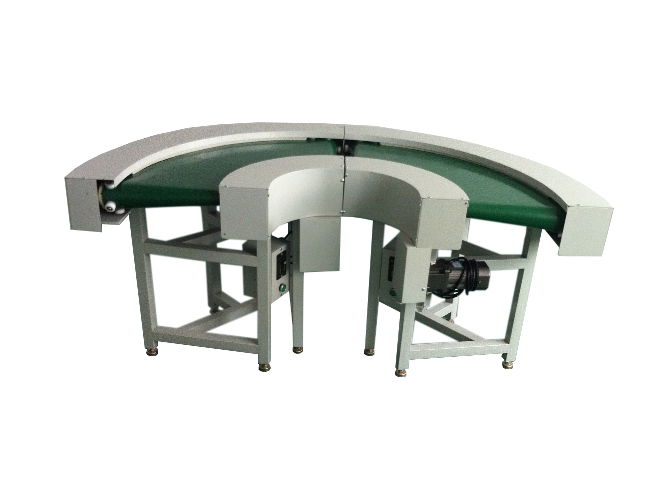 90 Degree Curve Small Mini Sushi Belt Conveyor System With CE Certification