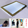 crystal materials acrylic photo frames magic mirror Advertising display, sensor light box