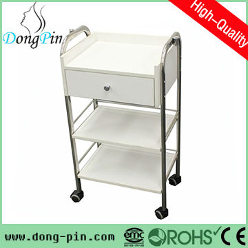 discount hall trolleys salon storage cabinets