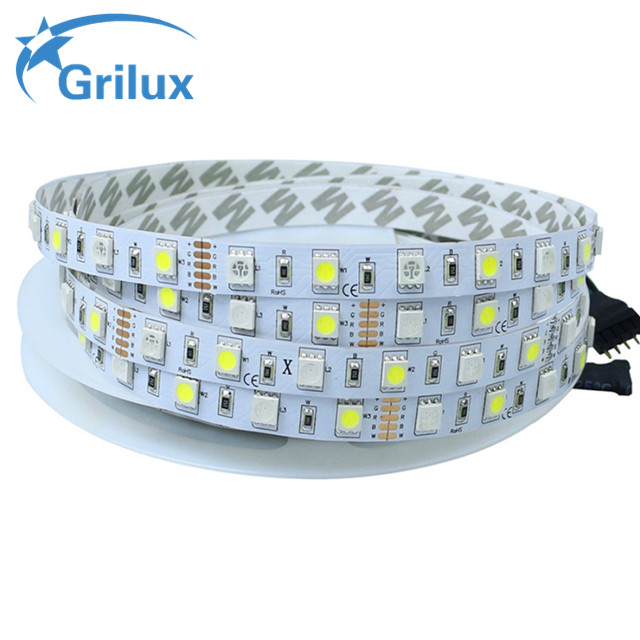 High brightness band <strong>rgb</strong>+ww <strong>rgb</strong> white led strip OEM price