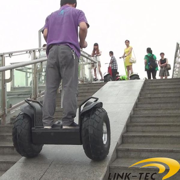 Human Transporter Electric Chariot China Scooter 2 Wheel Truck Trailer