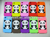 silicone animal shaped phone cases for iphone 4 4s with panda