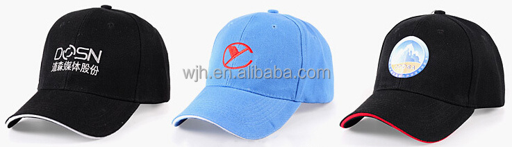 100%cotton embroidered promotional baseball cap