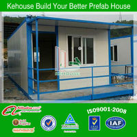 low cost high quality strong structure container house, mobile office container used