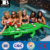 high quality inflatable full size alligator with built in cooler and cup holders vinyl inflatable crocodile pool toys for adult