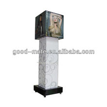 Cardboard Rotating Display Stand, Swivel Display Stand
