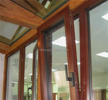 American Style bullet proof Aluminium glass windows doors/Aluminium tilt and turn windows