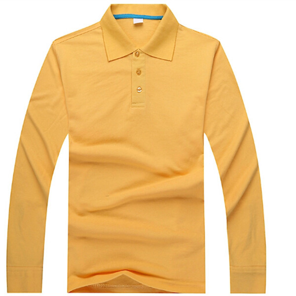 high quality dry fit polo shirt, 100% cotton long sleeve polo t shirt for men