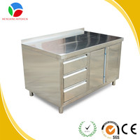 free standing work table/stainless steel kitchen cabinet/table for kitchen cabinet