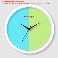 Wholesale cheap price customized big size art painting wall clock