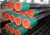 API Steel pipe / api 5l PSL1 schedule 40 carbon steel lined pipe with grade x56 x60 x65