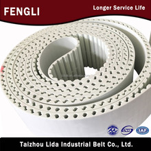 drive belts polyurethane round industrial timing belt