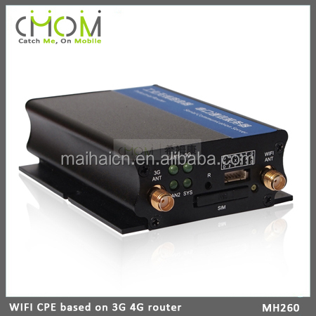 Monitor WIFI / 4G LTE CPE WIFI router with Aluminum alloy shell
