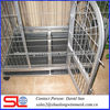 metal anticollision modula dog breeding cage, unique large stainless steel bar folding pet cage ,expanded double cheap cage .
