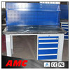 Metal Garage Workbench, Steel Work Table with Drawers