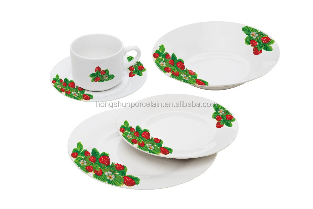 hot sale new product 2016 porcelain china tableware set