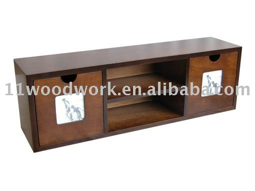 Classic Style MDF Decorative Design Wooden Wall Shelf