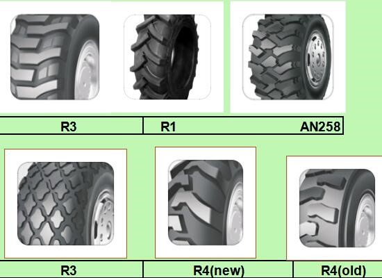Agriculture tyre 7.50-16 R1