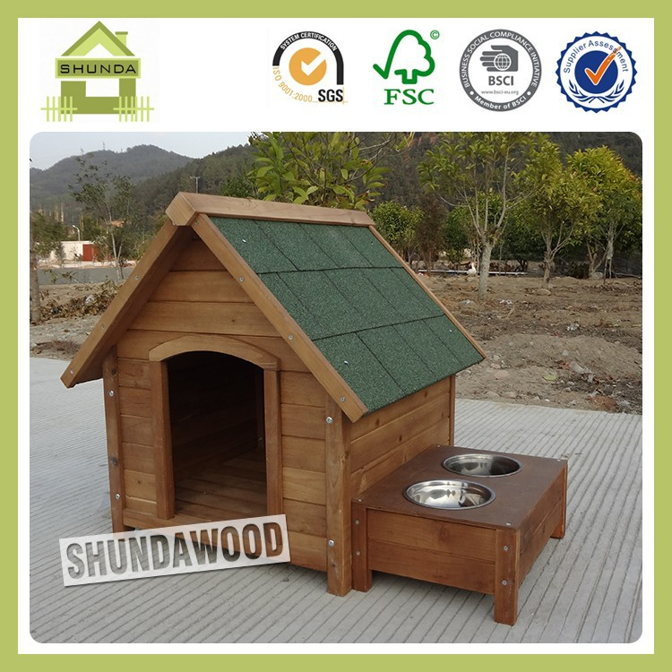 SDD0405 Fashion Design Wooden Outdoor Dog Kennel