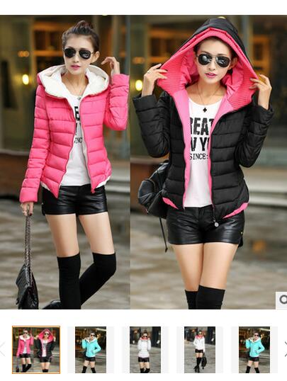 Camperas Mujer Invierno Cotton-padded Long Slim Design Women Down Coats 2016 Winter Jacket